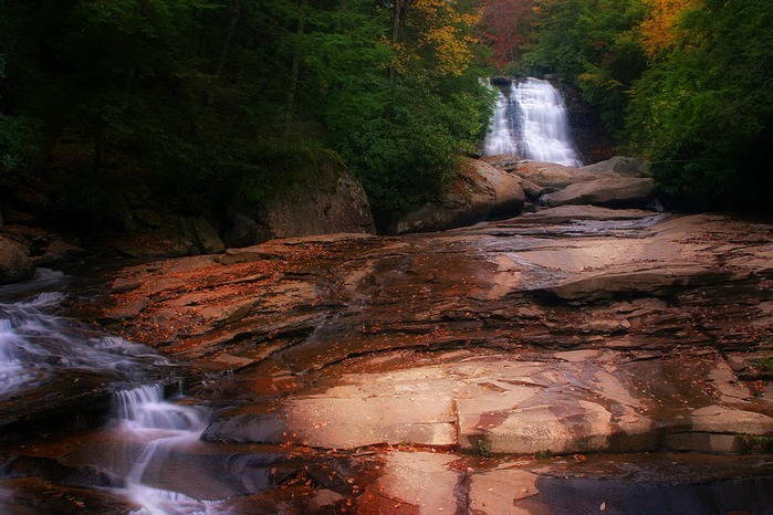 Swallow Falls State Park in Maryland USA 88712