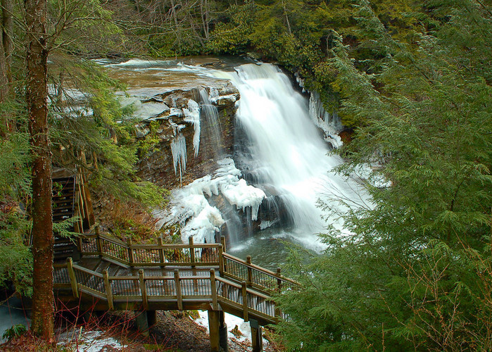 Swallow Falls State Park in Maryland USA 31256