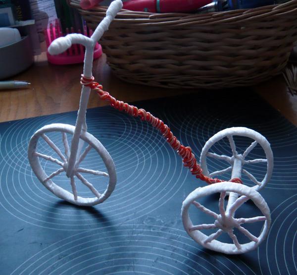Миниатюрный велосипед своими руками