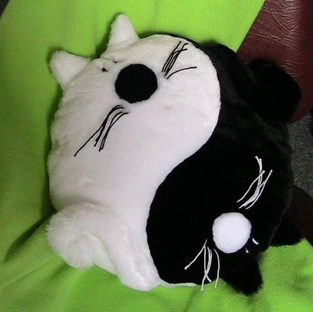 Коты подушка