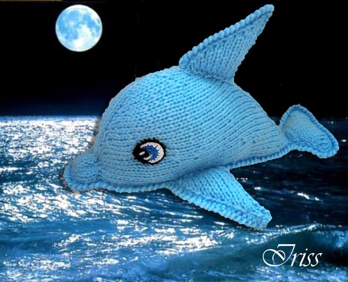 """针织:""""想要说话的海豚"""" - maomao - 我随心动"""