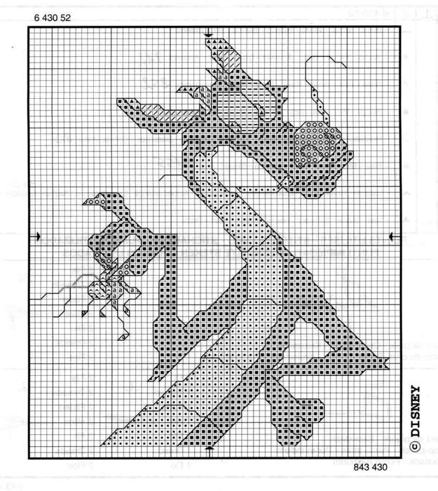 Драконы схемы вышивки крестом 12