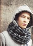 Превью шарф мужской серый волк 1 (500x700, 338Kb)
