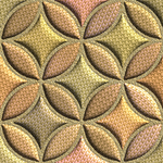 Превью Golden Padded Circles (350x350, 335Kb)