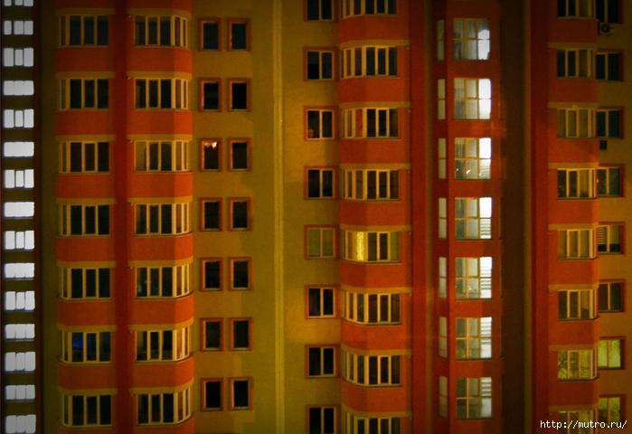 вид из окна, бытие определяет сознание