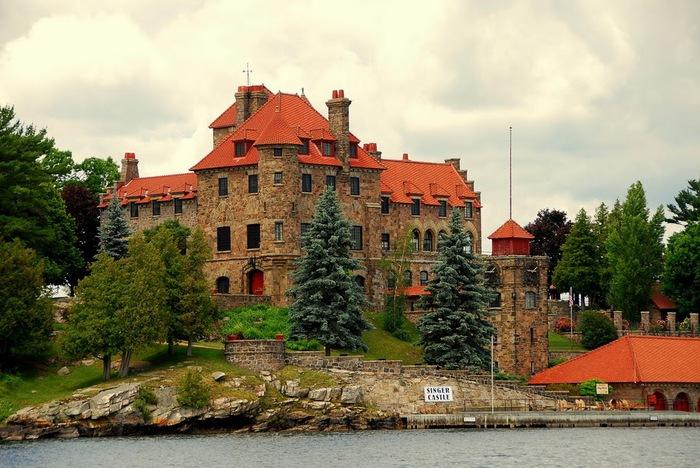 Замок Зингера (Singer Castle) на острове Дарк-Айленд (Dark Island) (Канада) 17030