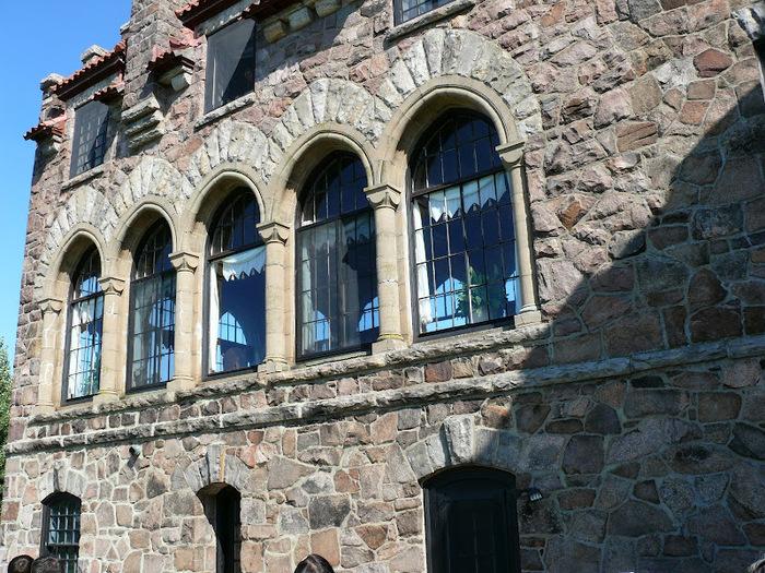 Замок Зингера (Singer Castle) на острове Дарк-Айленд (Dark Island) (Канада) 85971