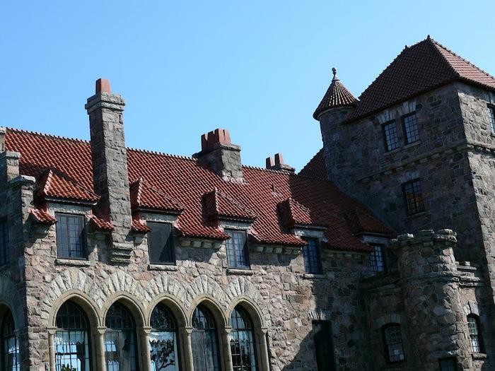 Замок Зингера (Singer Castle) на острове Дарк-Айленд (Dark Island) (Канада) 16272