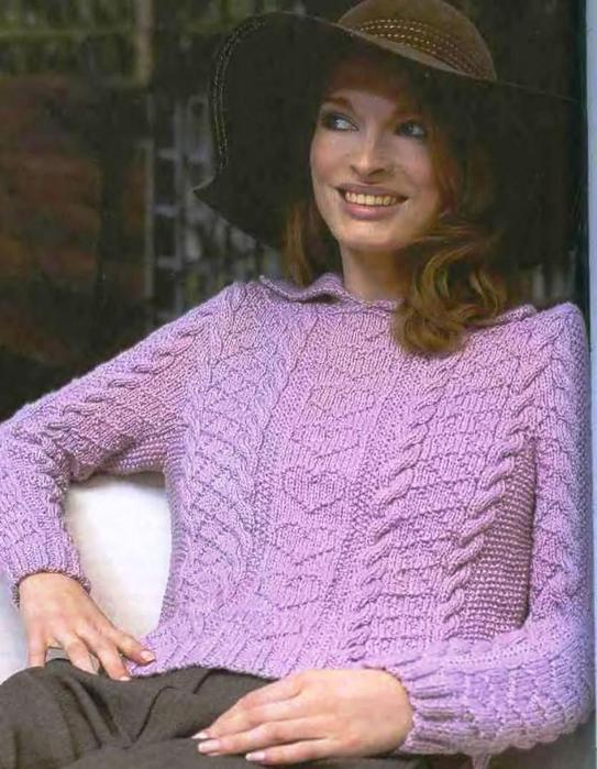 сирен.пуловер (543x700, 365Kb)