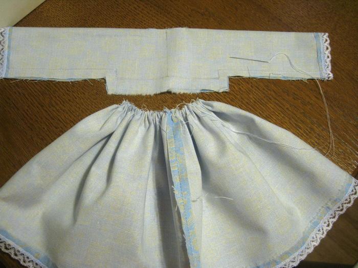 Как сшить юбку для куклы