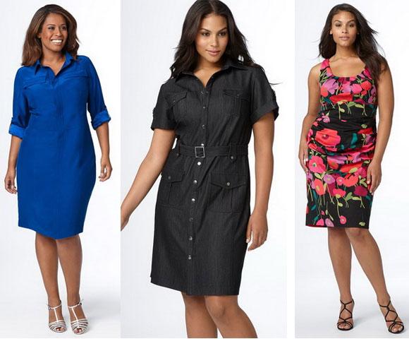 Модели платьев для полных девочек
