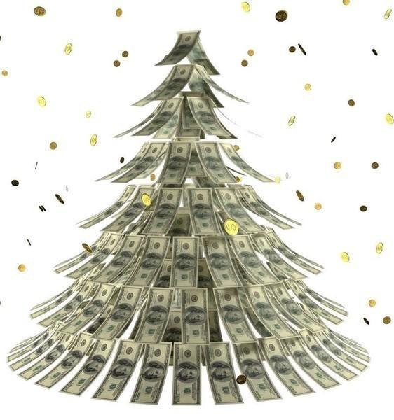 денежная елка (562x600, 80Kb)