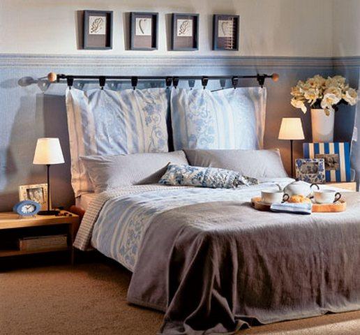 Подушка на спинку кровати своими руками