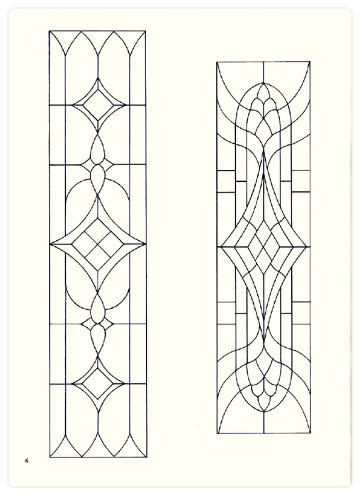 Decorative Doorways Stained Glass - 06 (508x700, 121Kb)