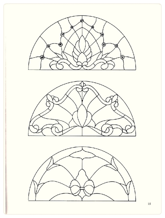 Decorative Doorways Stained Glass - 15 (530x700, 135Kb)