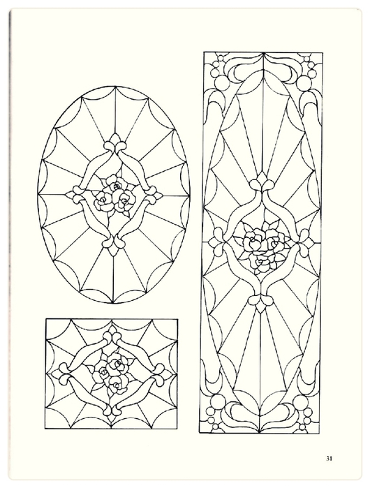 Decorative Doorways Stained Glass - 31 (530x700, 177Kb)