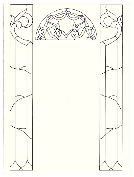 Decorative Doorways Stained Glass - 41 (530x700, 109Kb)
