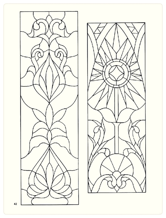 Decorative Doorways Stained Glass - 42 (530x700, 184Kb)