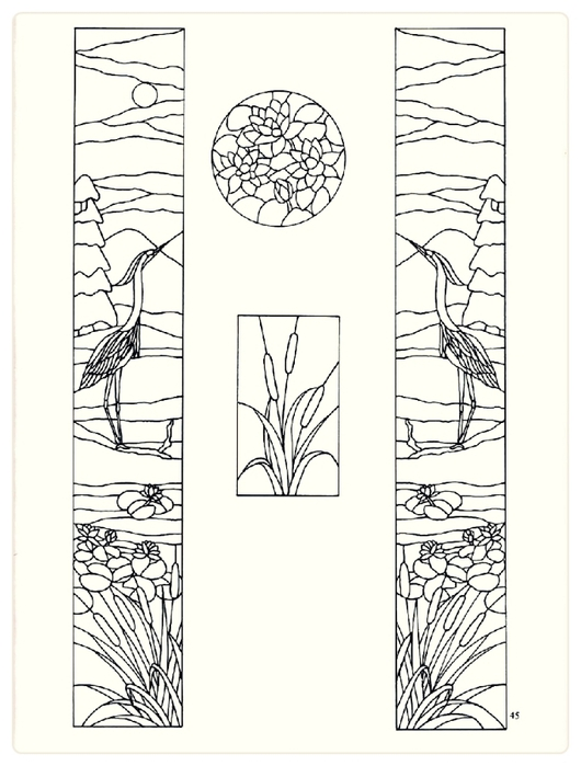 Decorative Doorways Stained Glass - 45 (530x700, 169Kb)