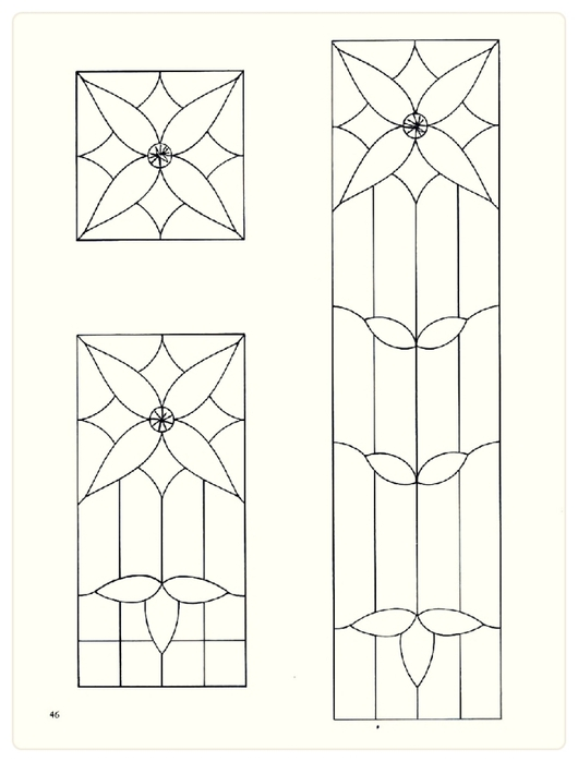 Decorative Doorways Stained Glass - 46 (530x700, 110Kb)