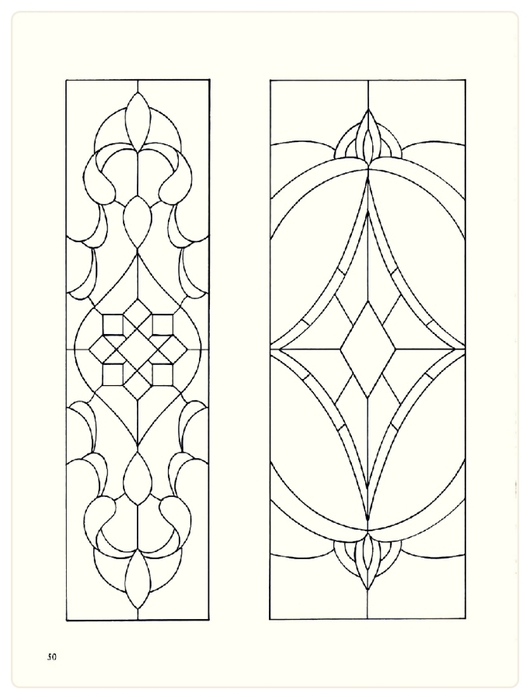 Decorative Doorways Stained Glass - 50 (530x700, 128Kb)