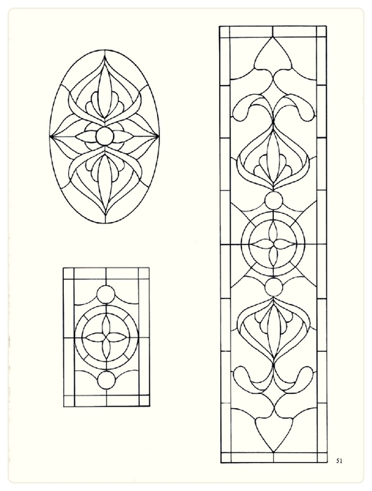 Decorative Doorways Stained Glass - 51 (530x700, 139Kb)