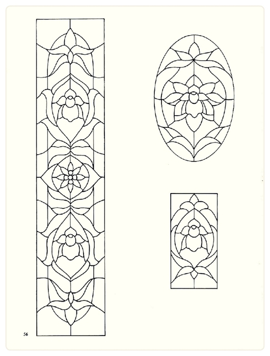 Decorative Doorways Stained Glass - 56 (530x700, 138Kb)