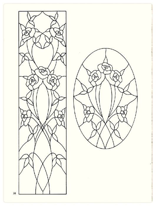 Decorative Doorways Stained Glass - 58 (530x700, 149Kb)