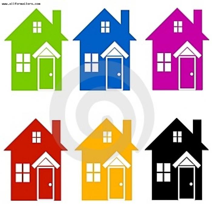 объявления других разноцветные домики картинки для детей увеличить размер
