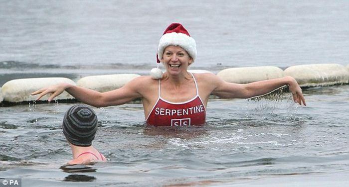 Зимнее плавание в Америке