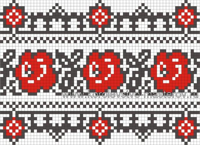 Вышивка крестом схемы для