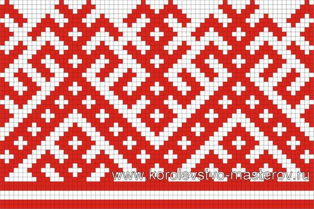 Схемы для вышивки крестом орнамент.  Обсуждение на.
