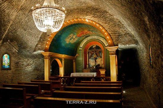 Подземный собор в Польше
