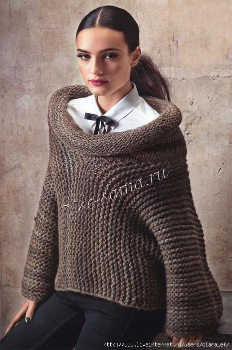 Ажурное вязание - Ажурное вязание спицами - Ажурное вязание спицами схемы.