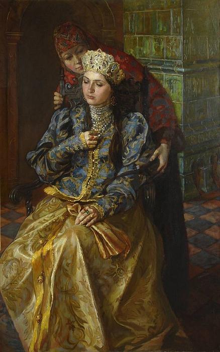 Мария Молодых. Ксения Годунова (438x700, 246Kb)