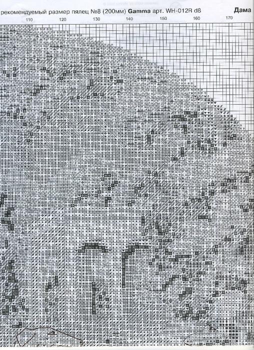 Схемы вышивки крестом борзая 85