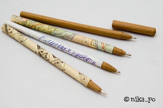 Оригинальная ручка своими руками