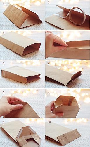 Пакетики из бумаги своими руками