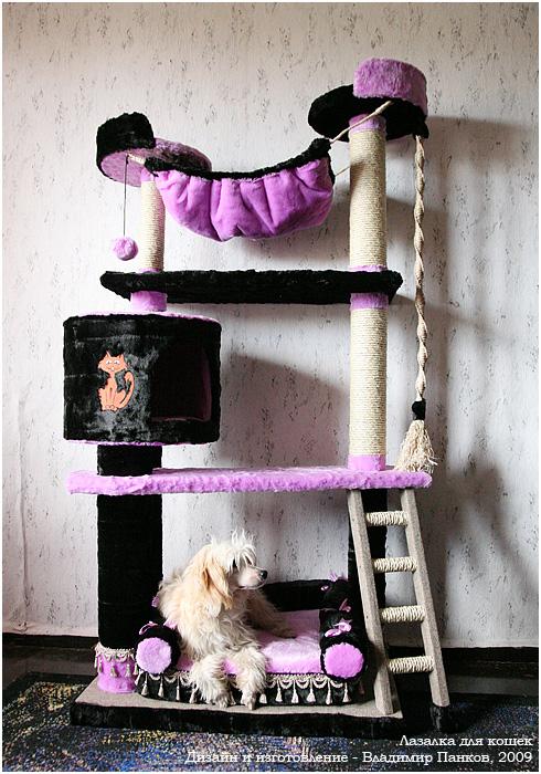 Домик для котенка своими руками пошаговая инструкция