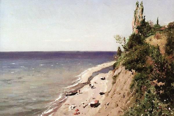 Берег Крыма 1889 (600x398, 56Kb)