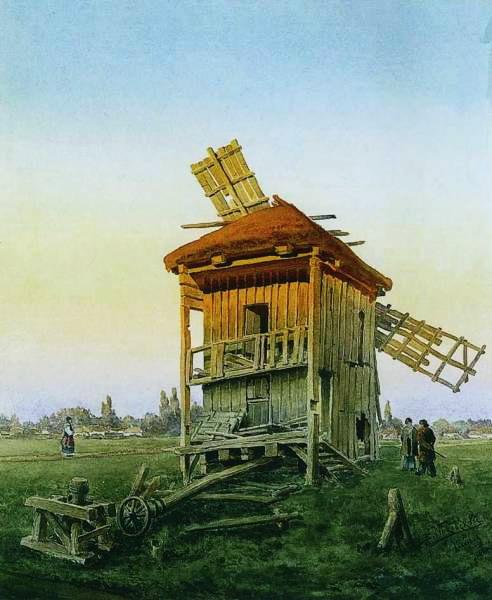 Ветряная мельница 1881 (492x600, 65Kb)