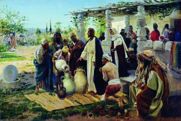 Чудо в Кане 1887 (600x403, 79Kb)