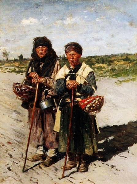 Две странницы 1885 (447x600, 75Kb)