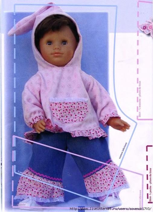 Шьем и вяжем кукол своими руками 398