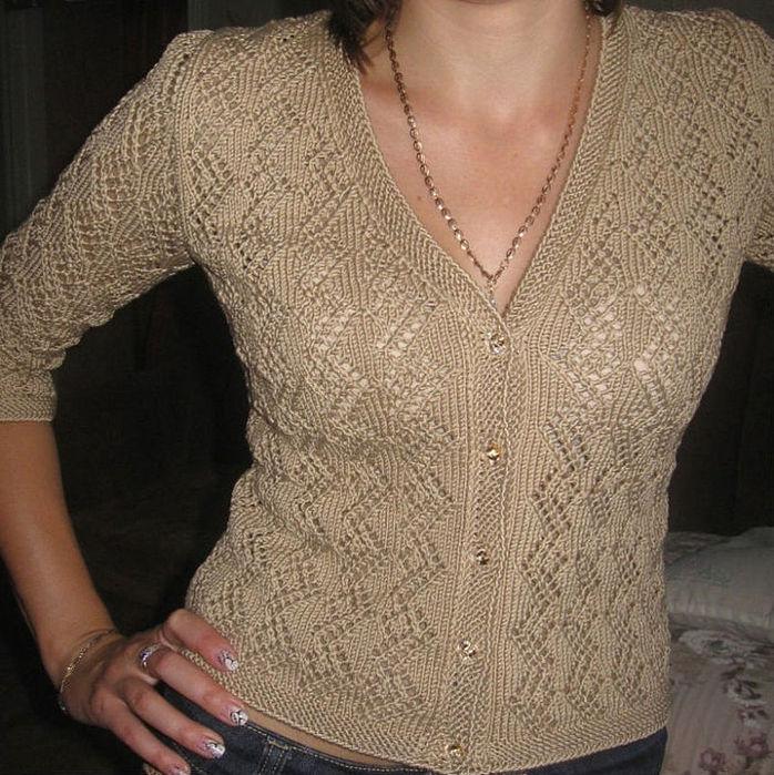 Вязание спицами ажурные кофточки для девочки