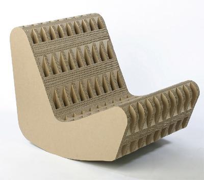 Мастерим мебель из картона (схемы, выкройки, рекомендации) .