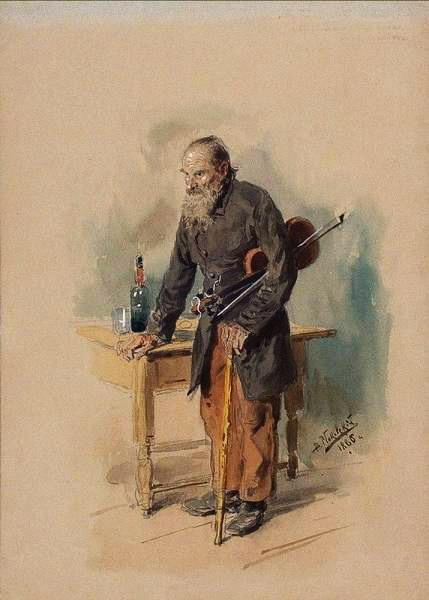 Бродячий скрипач 1886 (429x600, 45Kb)