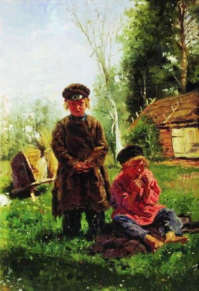 Крестьянские мальчики 1880 (409x600, 79Kb)