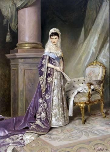 Портрет императрицы Марии Фёдоровны, жены Александра III. 1912 (362x500, 44Kb)
