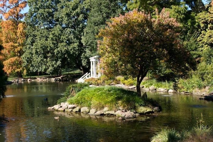 Общественный парк Morris Arboretum, Филадельфия 89025